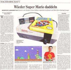 Wieder Mario daddeln